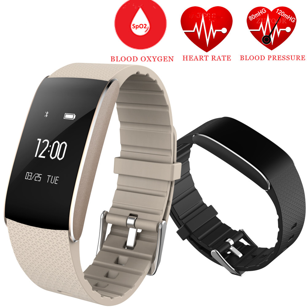 Volemer A86 Smart Band Sports Bracelet Blood Oxygen watch Pressure fitness Tracker Heart Rate Monitor Wristband