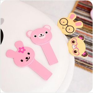 Image 2 - Cute Cartoon Toilets Lid Handle Creative Portable Not Dirty Hands Uncovery Flip Lid Toilet Cover Home Toilet Accessory