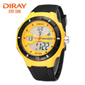 2016 Top DIRAY Men Sports Military Quartz Watches Luxury Brand Fashion Casual Wristwatch Men's Digital Watch Relogio Masculino