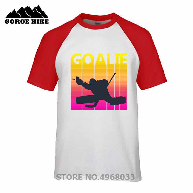2019 nouveau été Vintage rétro Style Hockey sur glace gardien de but T-shirts mâle Vintage canadien drôle parfait cadeau T-shirts jersey t-shirt