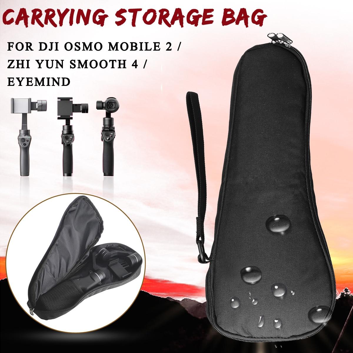 Portátil impermeable bolsa de mano paquete estuche protector para DJI para OSMO móvil 2/para Zhi Yun Suave 4 /para Eyemind