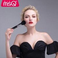 MSQ Высокое качество набор кистей для макияжа черные женские косметика по уходу за бровями Румяна для лица кисть порошок для губ Тени для век