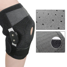 Adjustable Medical Hinged Knee Orthosis Brace Support Ligament Sport Injury Orthopedic Splint Sports Knee Pads Outdoor