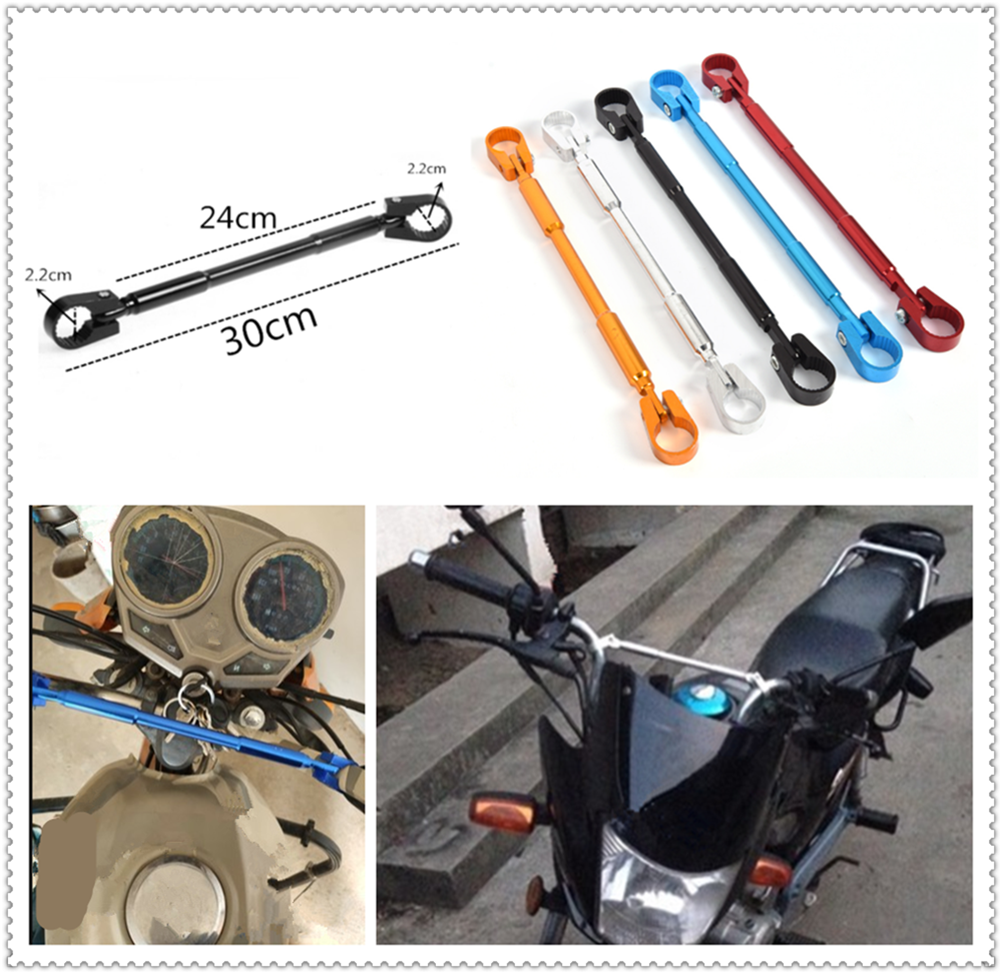 Motorcycle styling <font><b>handlebar</b></font> balance bar reinforcement rod crossbar for <font><b>YAMAHA</b></font> R6S EUROPE VERSION YZF <font><b>R1</b></font> R1M FAZER600 FZX700 image