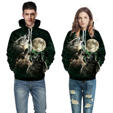 2019 Fashion Digital Print Starry sky Sweatshirt Couple Hooded Baseball Suit Long Sleeve Unisex Spring autumn