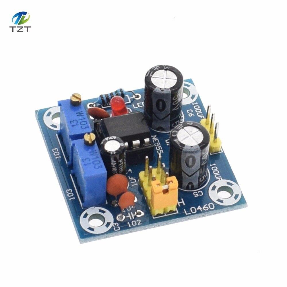 Ne555 Pulse Frequency Duty Cycle Square Wave Rectangular Signal 555 Generator Circuit Adjustable Board Ne555p Module