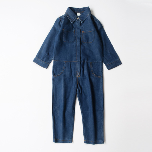 a9c61facf NEW Fashion Baby Boys Rompers Baby Clothes Cotton Denim Infantil ...