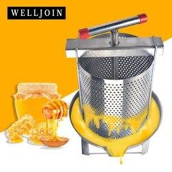 304 # ze stali nierdzewnej gospodarstwa domowego instrukcja miód naciśnij wosk naciśnij narzędzie pszczelarskie w Części do narzędzi od Narzędzia na
