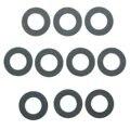 Conjunto de 10 Anéis de Junta de Vedação máquina de Lavar Dreno de Óleo Do Motor 90430-12031 Para TOYOTA