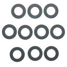 Набор из 10 Машинное масло Слива прокладка Кольца шайба 90430-12031 для Toyota