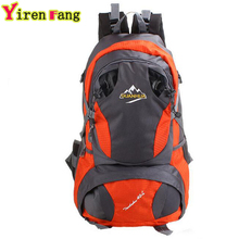 Hot Sale 2016 Brand Men's Large Capacity Backpacks Waterproof Nylon Travel Mountaineering Bag Zipper Backpack