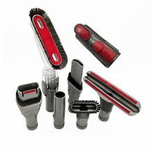 7x narzędzie szczelinowe klucz kombinowany zestaw szczotek z włosiem zamienniki dla dyson V7 V8 adapter zestaw narzędzi części do czyszczenia próżniowego