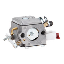 цена на DRELD Carburetor Carb For Husqvarnaa 340 345 346XP 350 351 353 Jonsered CS 2150 2141 2145 EPA Chainsaw 503283208 Zama C3-El18