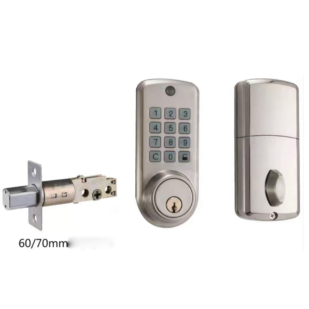 Cheap Codes Door Lock Electronic Door Lock Smart Keypad Digital Lock with Single Deadbolt digital electric best rfid hotel electronic door lock for flat apartment