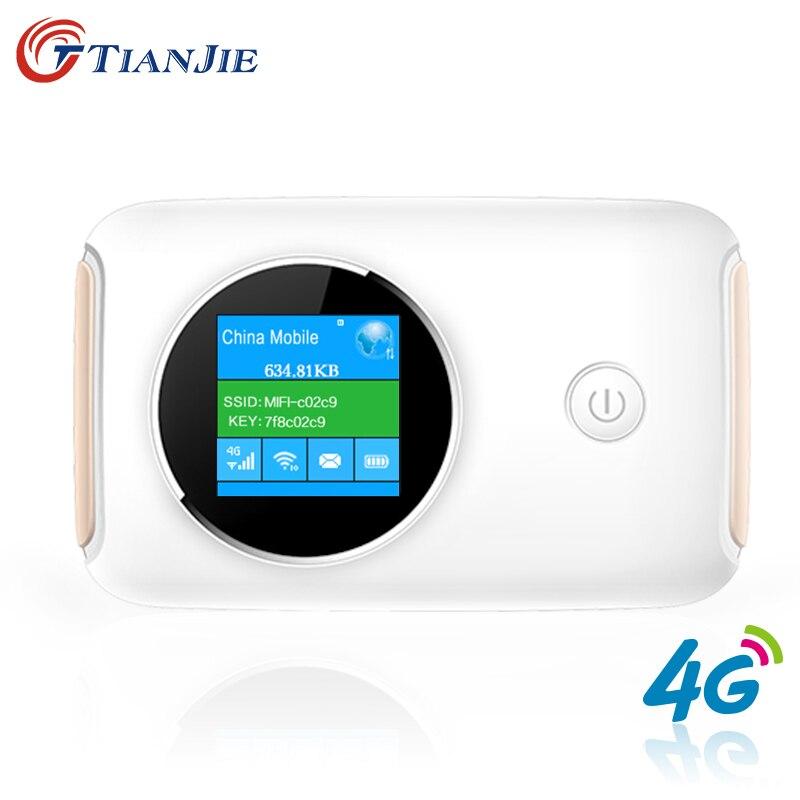 4G Wifi Routeur Voiture Mobile Wifi Hotspot Sans Fil À Large Bande Mifi Déverrouillé Modem Avec Fente Pour Carte Sim