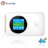 4G Wifi Mifi Router Wifi punto de Acceso Inalámbrico de Banda Ancha Móvil Del Coche Abrió El Módem Con Ranura Para Tarjeta Sim