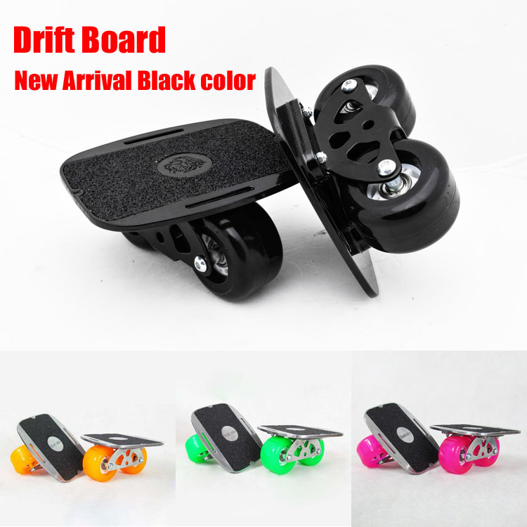 New Upgrade Drift Board Scrub Flat-Plate Skates Skateboard Deck Wakeboard For Kids FedEx Free Shipping ...