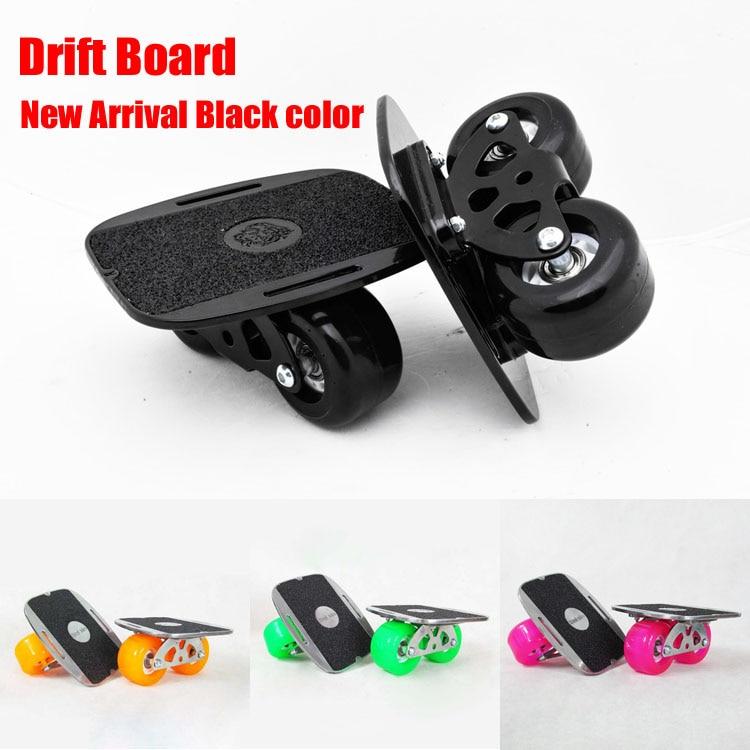 New Upgrade Drift Board Scrub Flat-Plate Skates Skateboard Deck Wakeboard For Kids FedEx Free Shipping ...