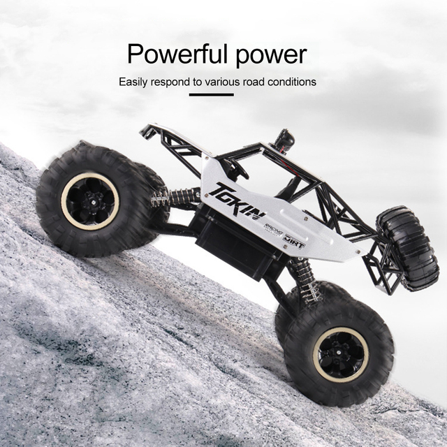 4WD Electric RC Car Rock Crawler Remote Control Toy Cars The Radio Controlled 4x4 Drive RC Car Toys For Boys Kids Suprise Gift 2