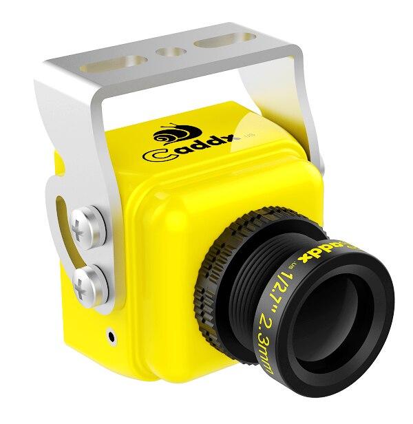 CADDX.US Turbo S1 1/3 CCD 600TVL IR Blocked FPV Camera Yellow/Green NTSC/PAL DC 5V-40V Wide Voltage turbo air kr25 1