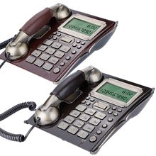 C127 European Antique Vintage Fixed Telephone Landline Wall Mounted Telephone For Home(China)