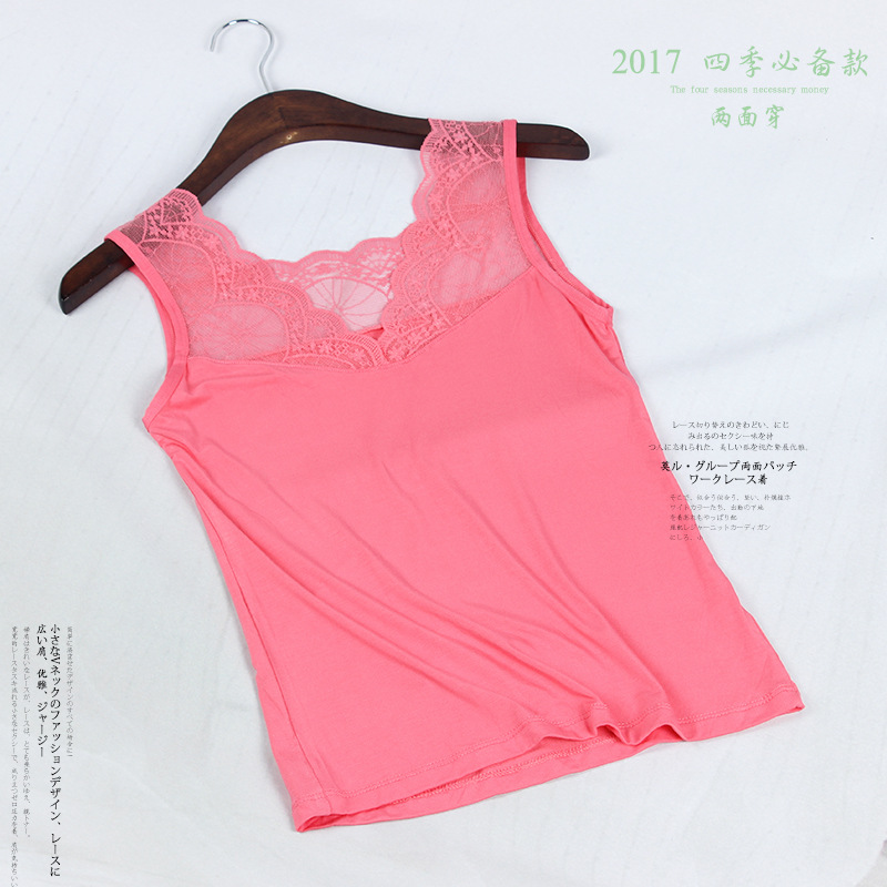 New Lace Tank Tops Female Sexy V neck Vest Hollow Out Solid Club Tops Women Black