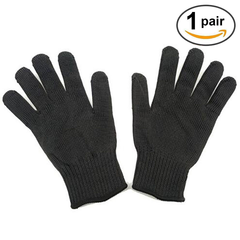 1Pair New Working Protective Gloves Cut-resistant Anti Abrasion Stainless Steel Wire Safety Gloves Cut Resistant Wear-resistant