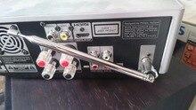 Male F Type Coaxial Coax Telescopic FM Antenna FOR Denon YAMAHA ONKYO MARANTZ PHILIPS TEAC SONY Home Theater AV A/V Receiver