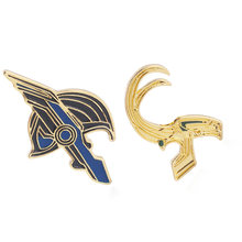 The Avengers Enamel Pin Bros Superhero Thor Loki Hammer Spiderman Batman Lencana Wanita Pria Lapel Pin Kemeja Denim Hadiah(China)