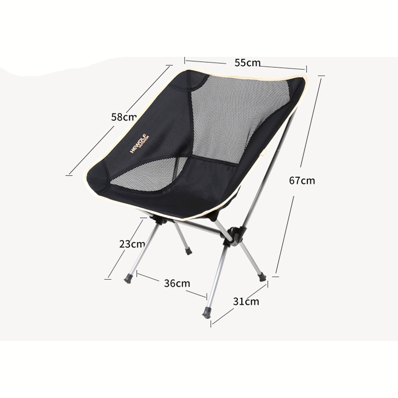 Outdoor Portable Foldable Chair Fishing Camping Folding Seat Ultralight Sport Leisure Picnic BBQ Beach Chairs Oxford Cloth