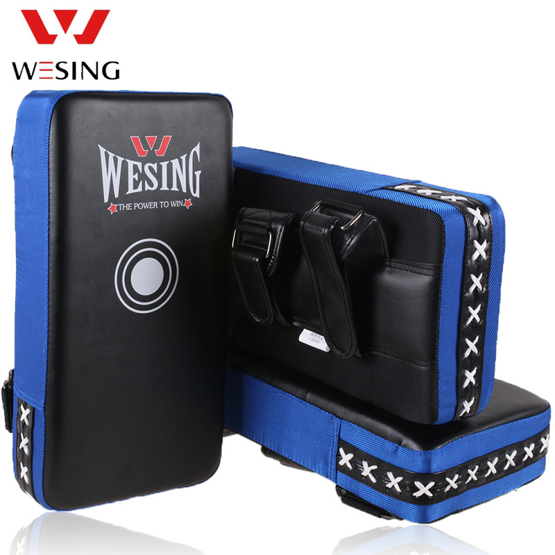 WESING MMA Strike Shield Curved Training Thai Pad Focus Target Boxing Kick Punching Mitts