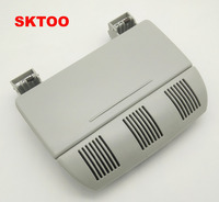 SKTOO For Skoda Octavia Fabia Color Sunglasses Box Sun Glasses Case Container Eyeglasses Holder Gray Or