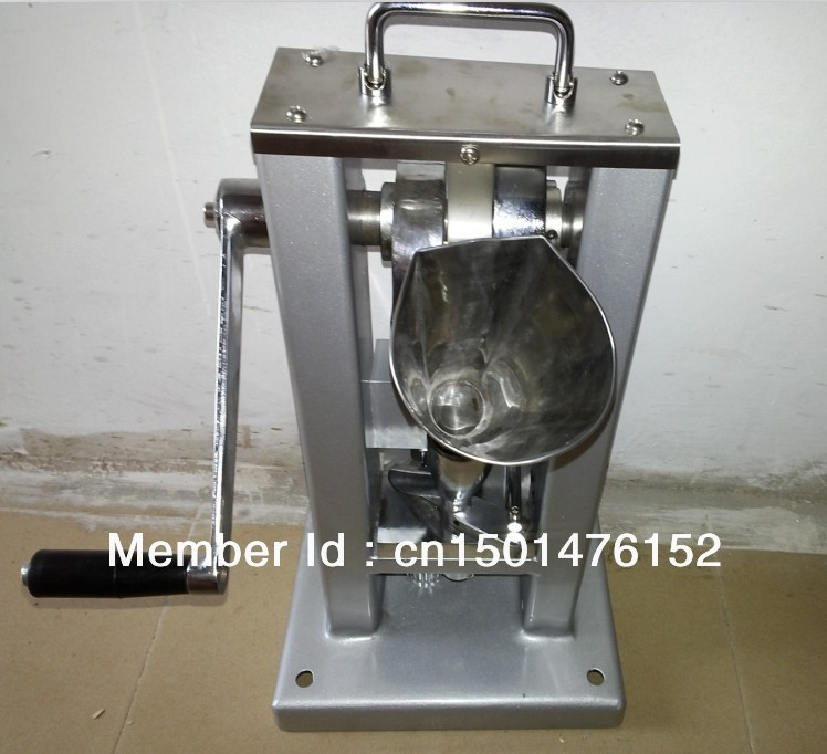 manual Tablet press machine,single punch pill press,with one set mould die - Lyly L's store