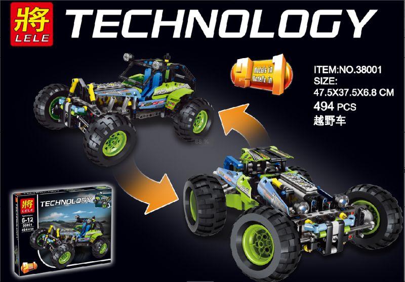 JP 38001 High Technic Toy Model Building Blocks Bricks Toys