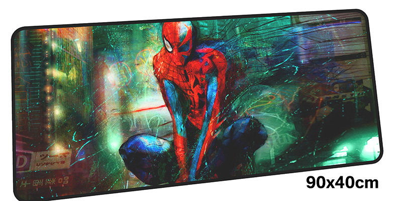 SpiderMan mousepad gamer 900x400X3MM gaming mouse pad large Boy Gift notebook pc accessories laptop padmouse ergonomic mat