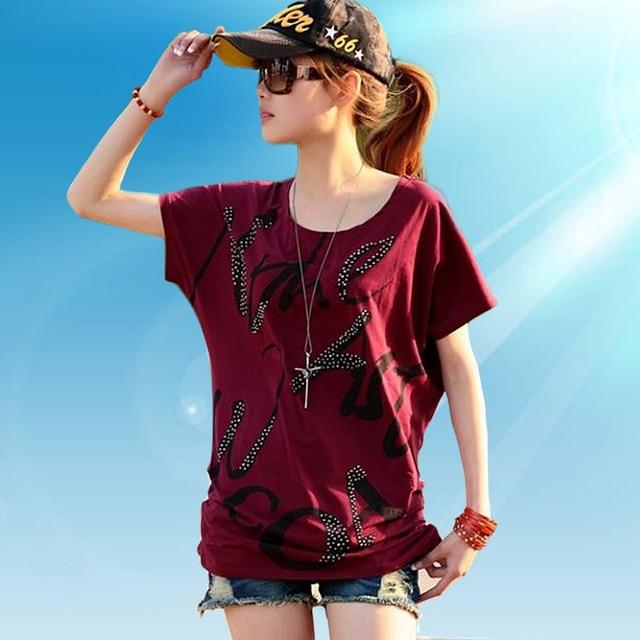 Plus size clothing summer plus size clothing Large short-sleeve T-shirt