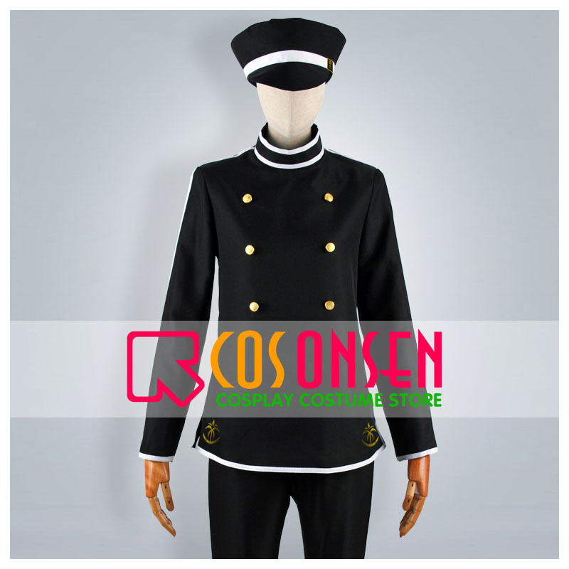 COSPLAYONSEN Meijitoukyourenka Hishida Syunsou Cosplay Costume All Size Custom Made