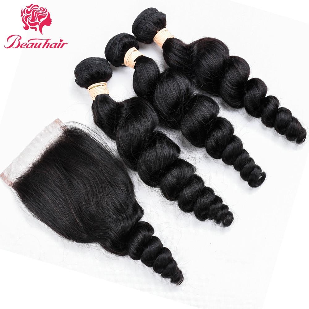 Beau Loose Curly Hair Malajziai Szőrt Varrócsomagok - Szépség és egészség - Fénykép 1