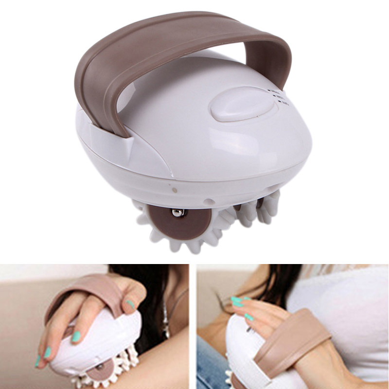 3D Electric Facial Massager Roller Fat Burner Body Slimming Anti-cellulite Massaging Slim Device Spa Vibration Machine H electric body massager relax tone fat cellulite massager relaxation for slimming and relaxing with four heads