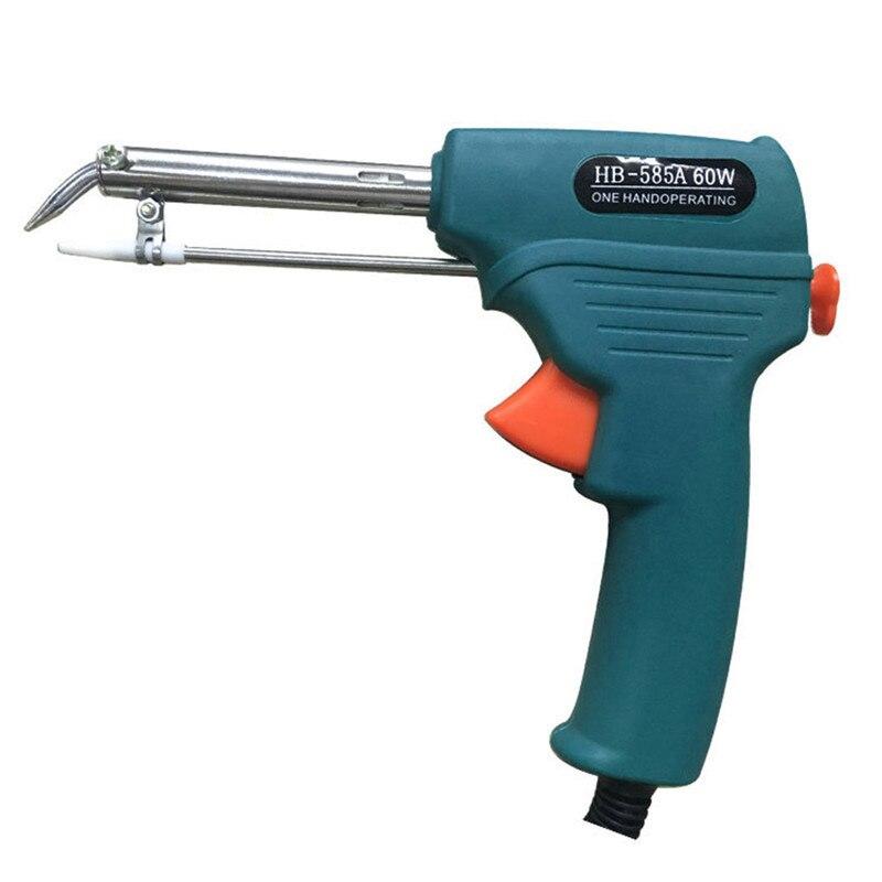 External Heat Type 60W Automatic Send Tin Welding Soldering Iron Gun 0.8-1.2mm