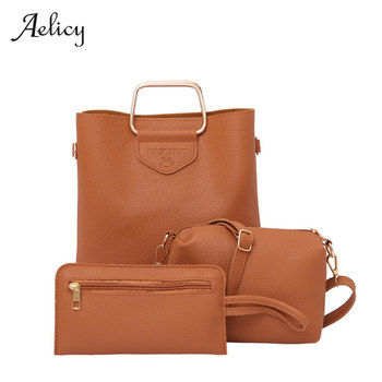 Aelicy Fashion Women Brands PU Leather Shoulder Bags Ladies Tote Handbag Bags For Women 2017 Bolsa Feminina Bolsos Mujer 0901 shoulder bag