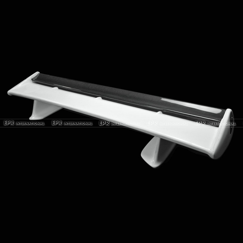 For Nissan Skyline R34 GTR FRP Fiber Glass OEM Rear Spoiler With Carbon Small Blade Car Accessories Trunk Wing Car-Styling ...
