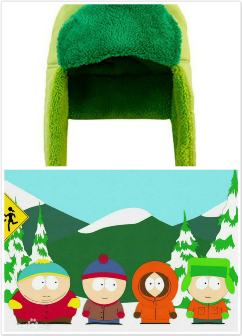 Hot Sale Adult Unisex South Park Kyle Broflovski Cosplay Trapper Hat Cosplay Accessories