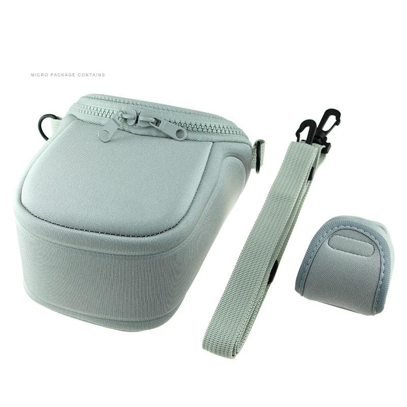 Mini caja de la cámara para Samsung NX3300 NX3000 NX2000 NX1000 NX1100 NX500 NX200 NX300 NX20 NX30 NX funda protectora portátil