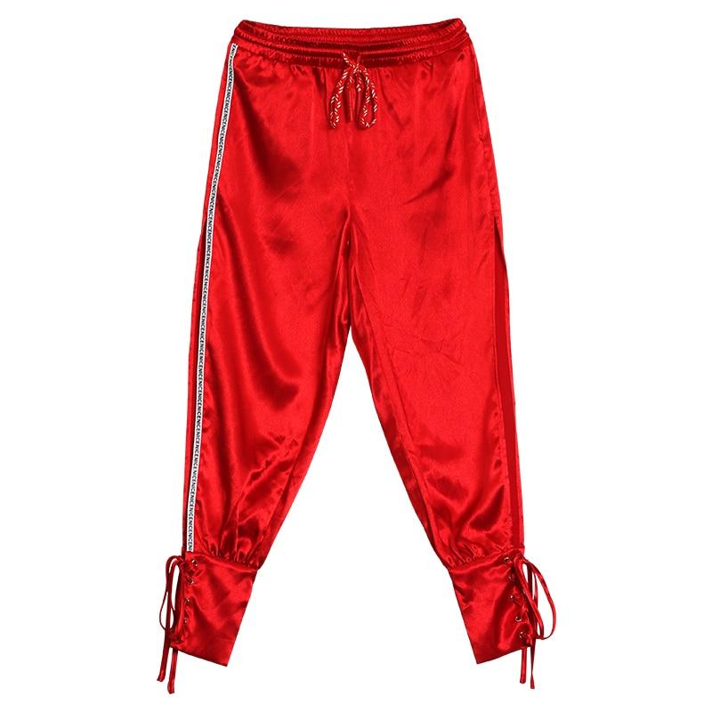 De Red Femmes Gueules Wqjgr Haren La Harem Plus Mode Femme 2018 Taille Pantalon Printemps OBwwqtnZ