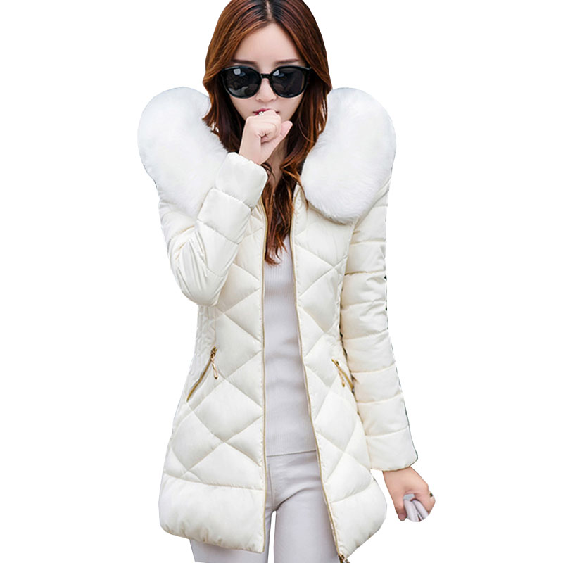 2017 winter jacket women fashion cotton-padded Hooded Slim jacket parka female wadded jacket outerwear winter coat women 4L54 winter jacket women 2017 fashion slim long cotton padded hooded jacket parka female wadded jacket outerwear winter coat women