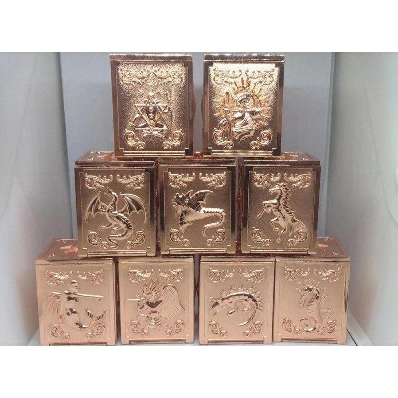 Saint Seiya Myth Cloth Scale Poseidon Sea Metal Pandora Box + Wooden Box