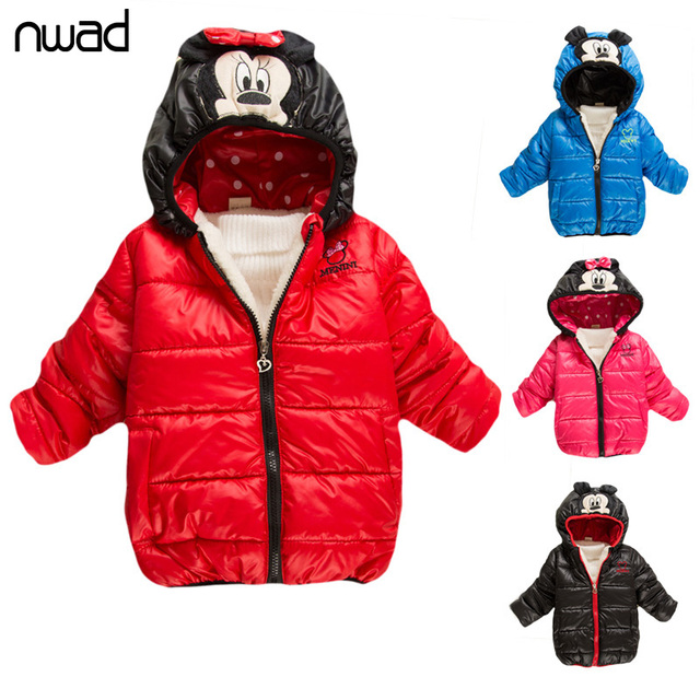 d21604dc1 Clearance Sale Boys Girls Winter Coat Minnie Minion Jacket For Children  Kids Cartoon Outerwear Hooded Warm Coats Clothing XX001