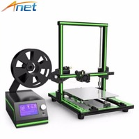 Semi Assembled Anet E10 3D Printer Aluminum Frame Reprap Prusa I3 3D Printer Kit DIY Large