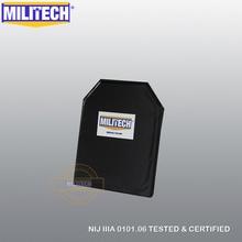Пуленепробиваемая пластина для баллистической панели NIJ Level IIIA 3A & NIJ 0101,07 Level HG2 10x12 стрелок Cut Aramid Soft Body Armor MILITECH